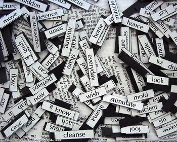 Writers magnetic-words