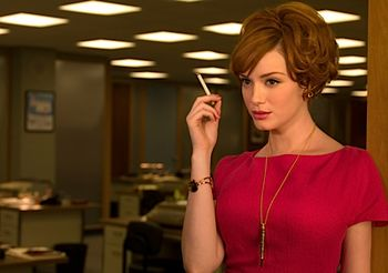 Mad men joan_holloway_hollow_pen_necklace