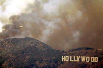 Hollywood-burning