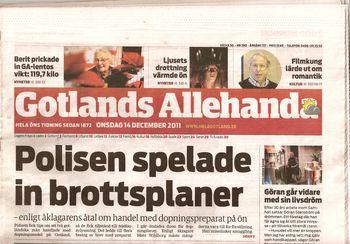 Swedish Newspaper