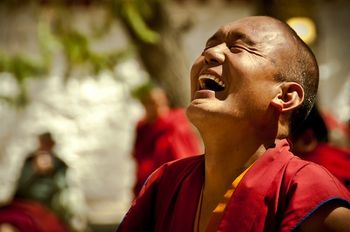Monk_laughing