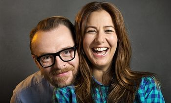 Man Up Simon-Pegg-and-Tess-Morris